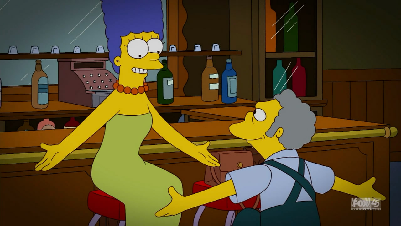 simpsons moe dating Morris moe  or 'moh szyslak /ˈsɪzlæk/ is a fictional character from the american animated television series the simpsons he is voiced by hank azaria and first appeared in the series premiere episode  simpsons roasting on an open fire .