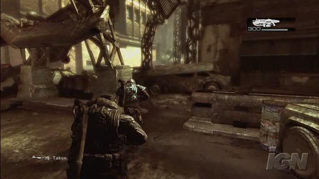 Gears of War Xbox 360 Gameplay