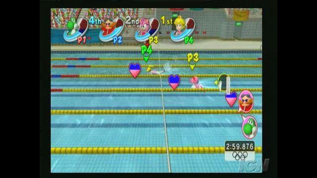 Mario & Sonic at the Olympic Games Nintendo Wii Trailer - Aquatics