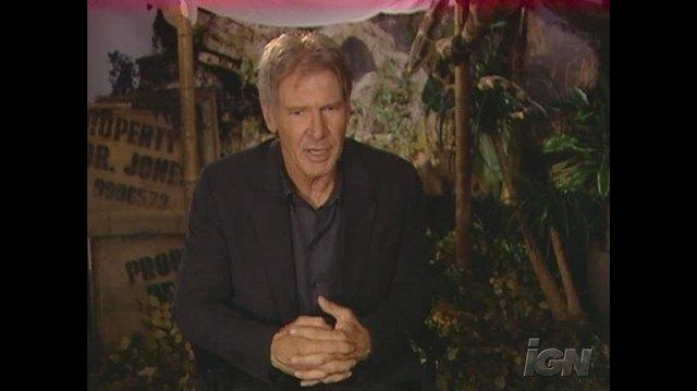 Indiana Jones and the Kingdom of the Crystal Skull Movie Interview - Harrison Ford