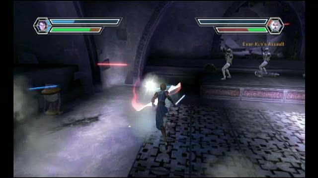 Star Wars The Clone Wars -- Lightsaber Duels Nintendo Wii Gameplay - Anakin vs. Ventress Level