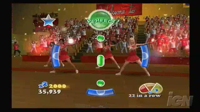 High School Musical 3 Senior Year Dance PlayStation 2 Gameplay - Now or Never