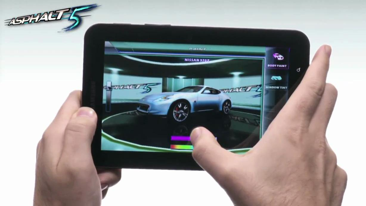 Gameloft's Upcoming Android Tablet Games