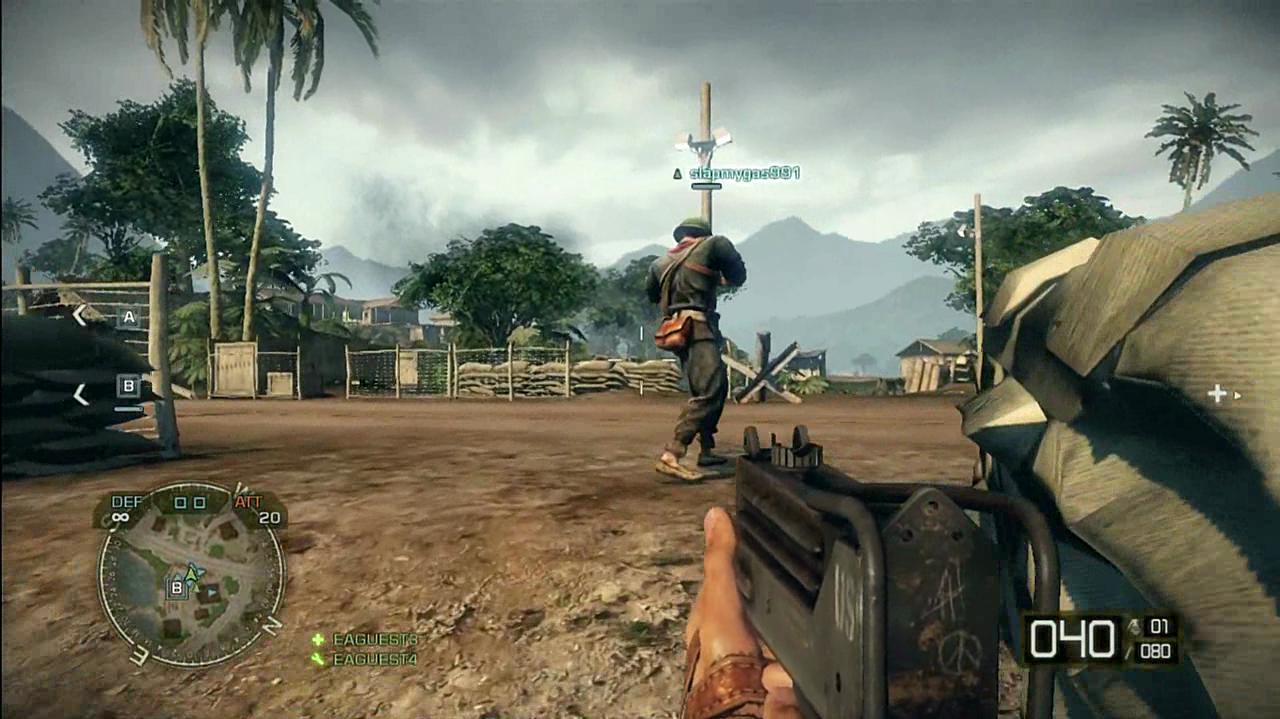 Battlefield Bad Company 2 Vietnam Phu Bai Valley Hello RPG Gameplay