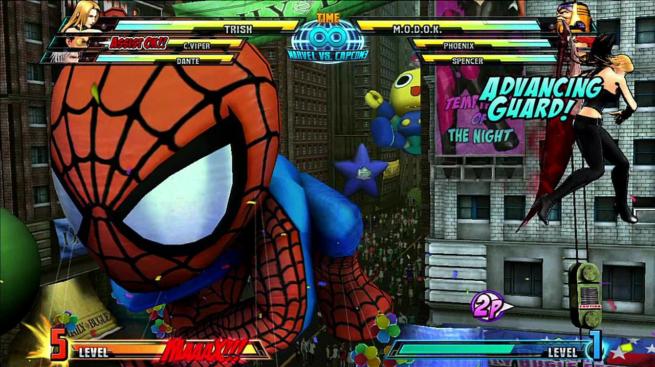 Marvel vs.Capcom 3 Trish Gameplay Footage