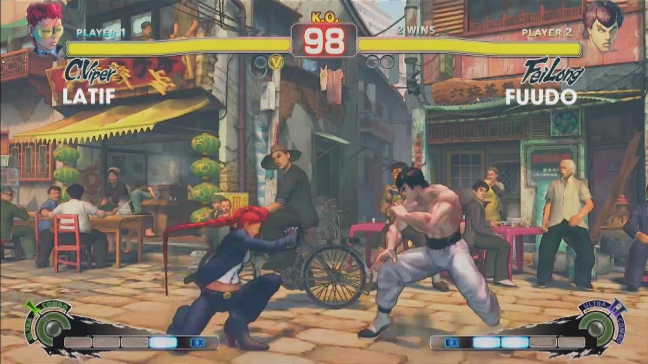 Super Street Fighter IV Arcade Edition - Evo 2011 Top 8 – Latif vs. Fuudo