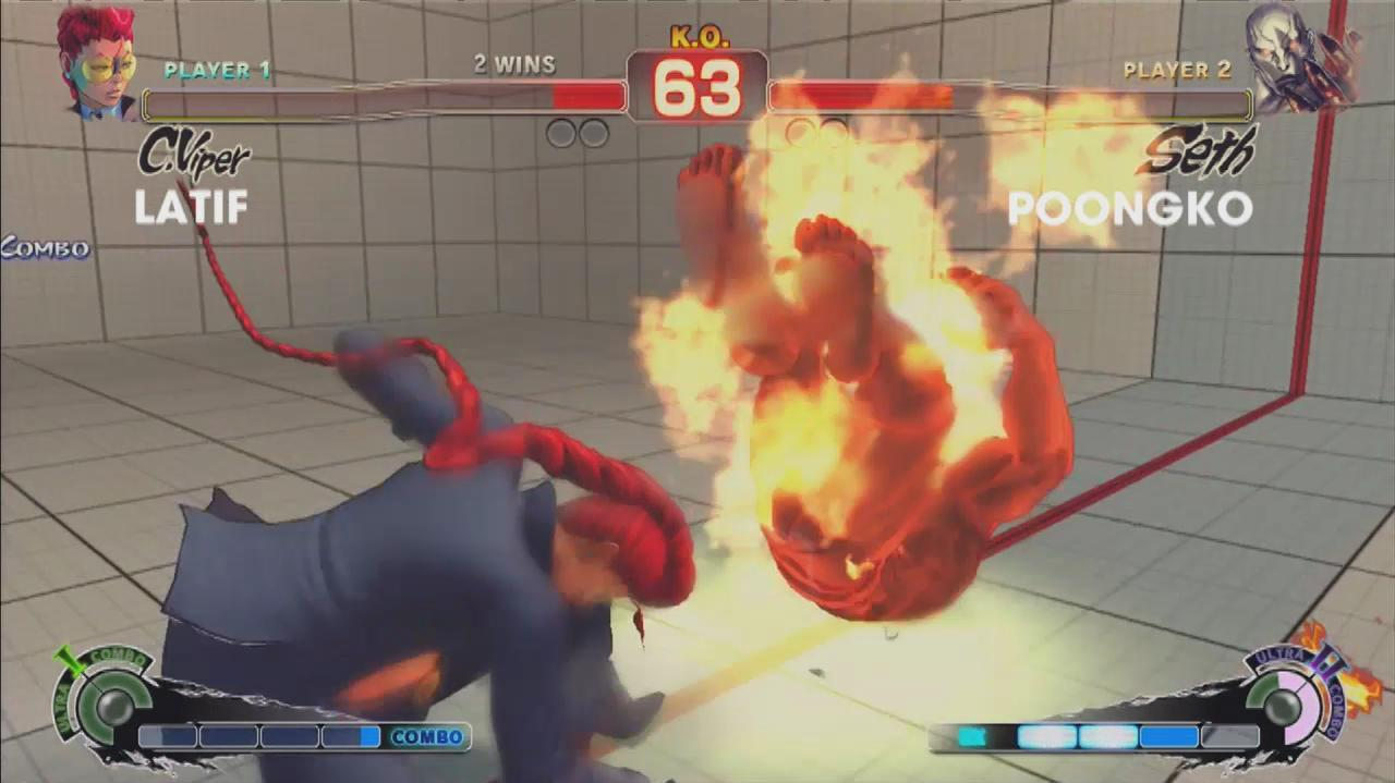 Super Street Fighter IV Arcade Edition - Evo 2011 Top 8 – Latif vs. Poongko