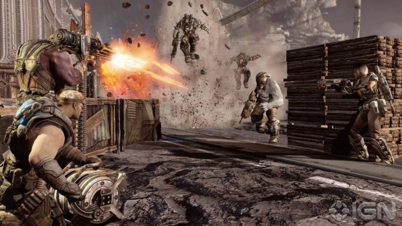 Gears of War 3 Horde Trailer