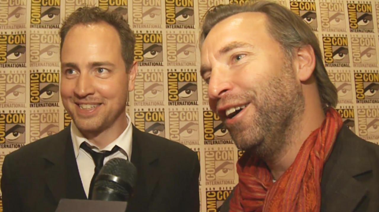 Comic-Con Underworld Awakening - Mans Marlind & Bjorn Stein