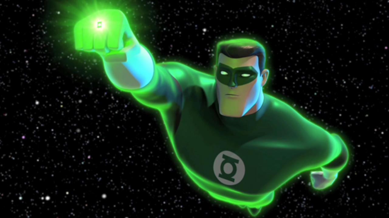 Green Lantern Animated Series - Summoned to Oa