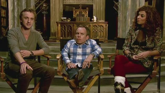 Harry Potter and the Deathly Hallows - DVD Interview