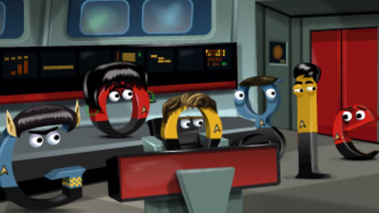 Google Celebrates Star Trek The Original Series