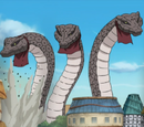 Three Giant Snakes