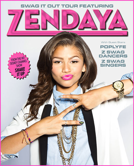Swag It Out Tour - Zendaya Wiki Zendaya Coleman Swag It Out