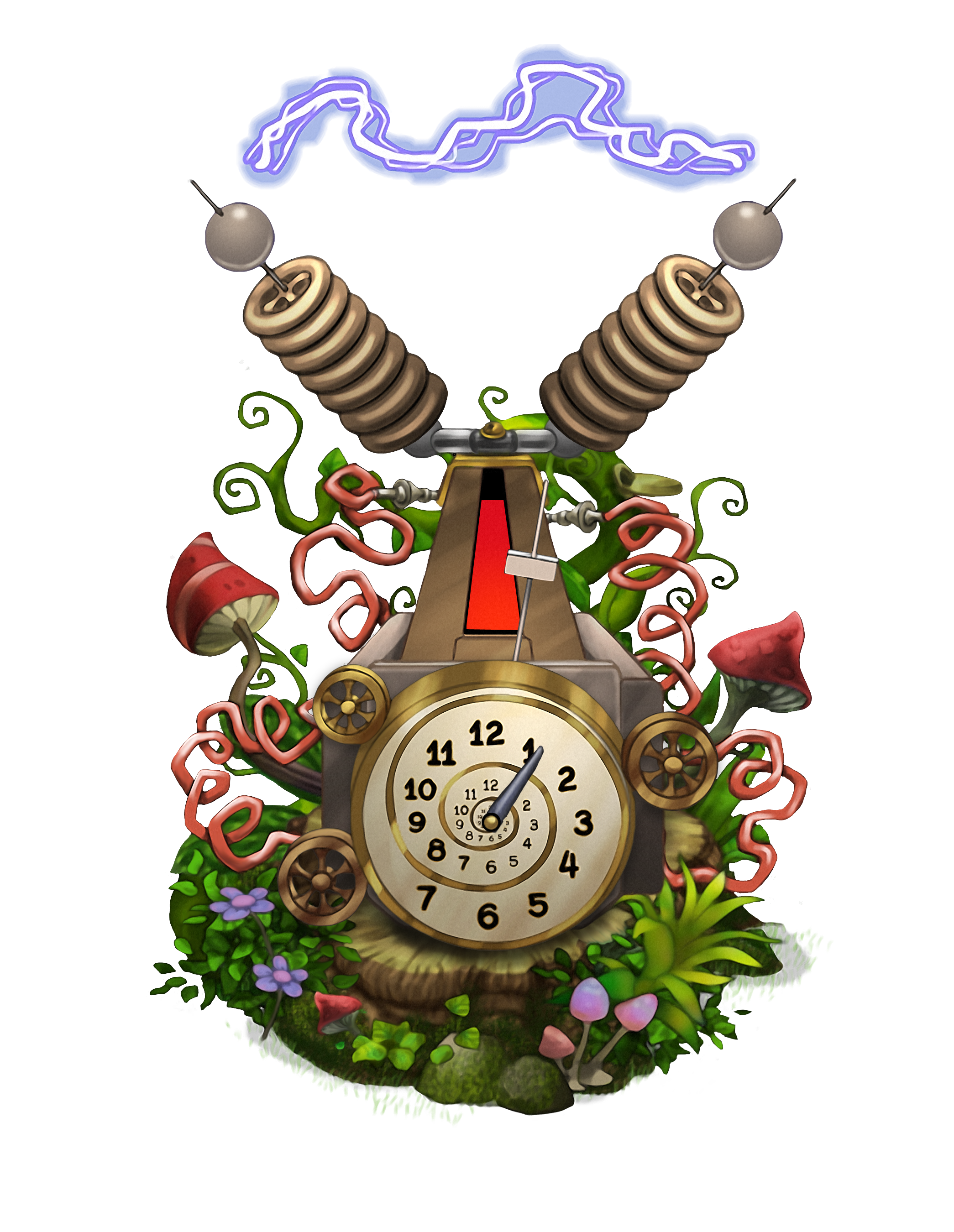 time machine png
