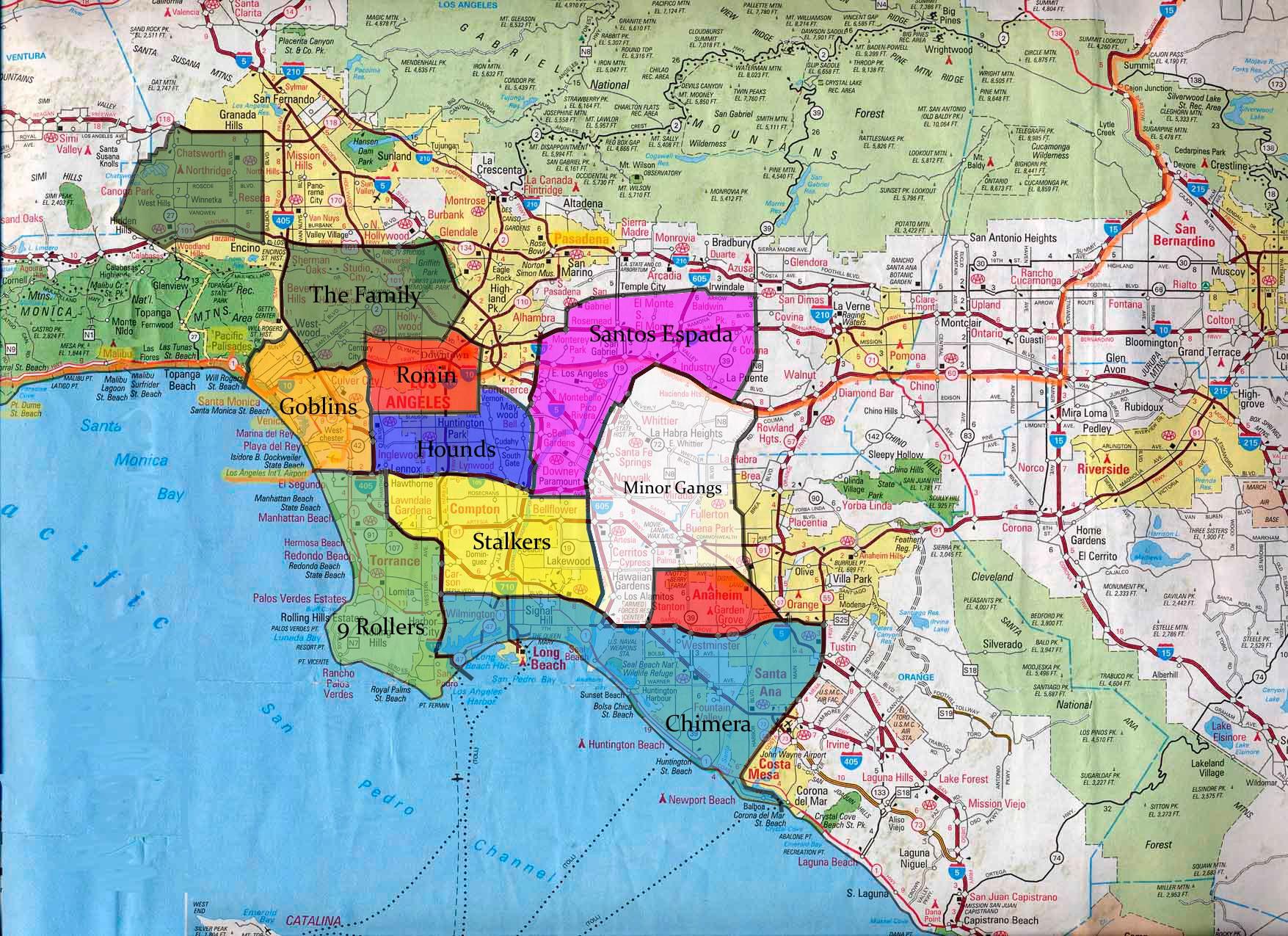 LA Gangs  Los Angeles Police Department