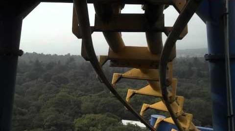 Batman The Ride (Six Flags México)