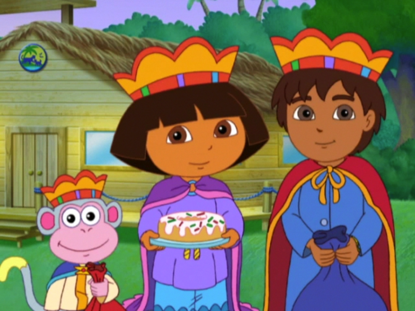 Dora Saves Three Kings...