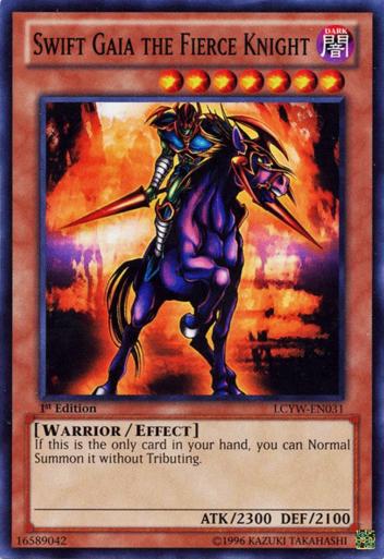 Majestic Knights Card Shop SwiftGaiatheFierceKnight-LCYW-EN-C-1E