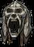 Helm abominable yeti skull