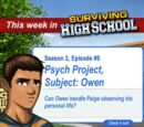 Psych Project, Subject: Owen
