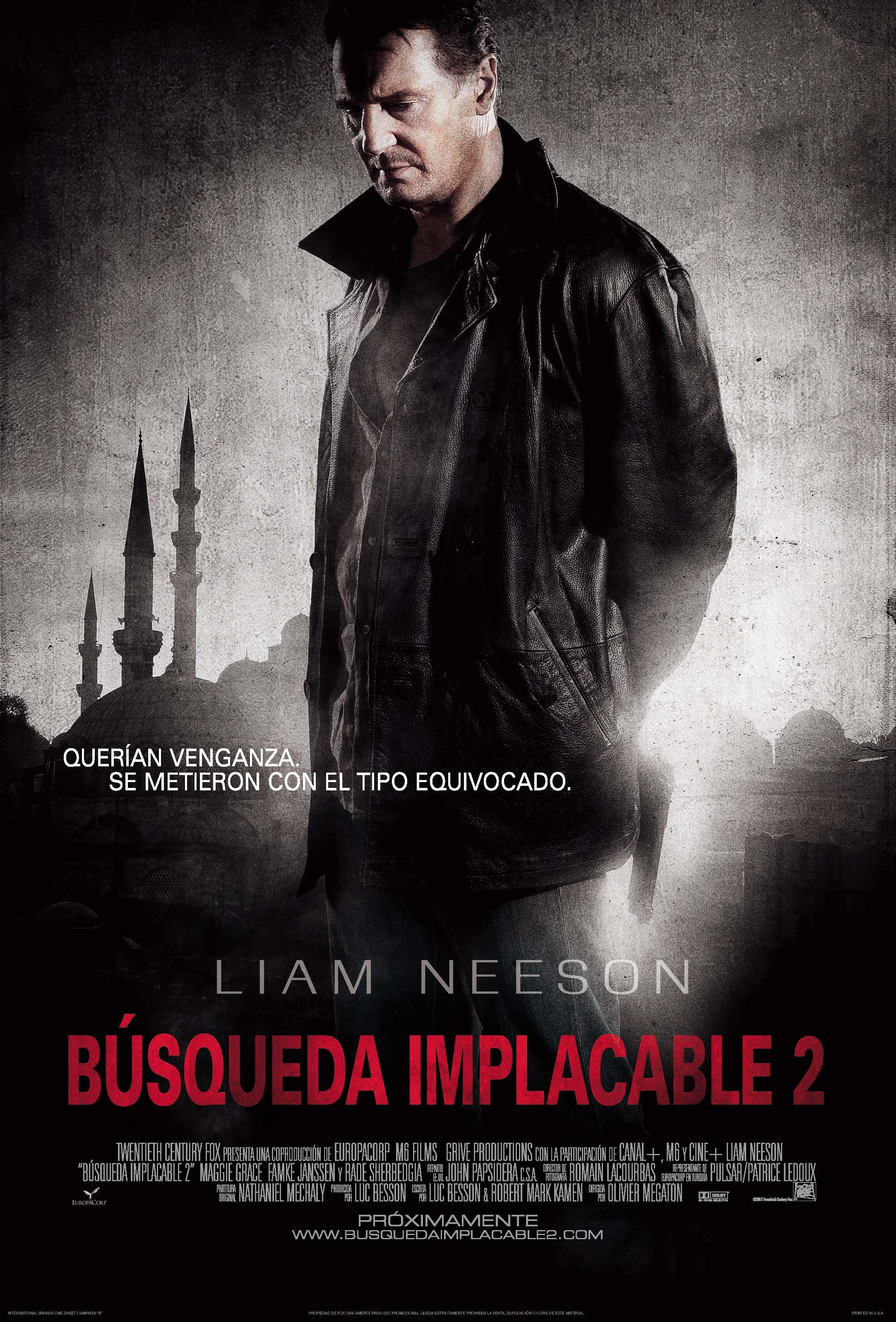 Búsqueda Implacable 2 [DVD]