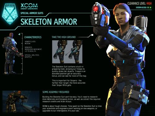 Skeleton Suit Armor Xcom Wiki Wikia