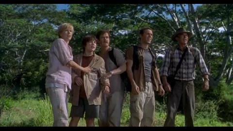 Jurassic Park III - escape spinosaurus