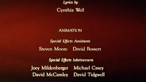 An American Tail - ending credits Part 2