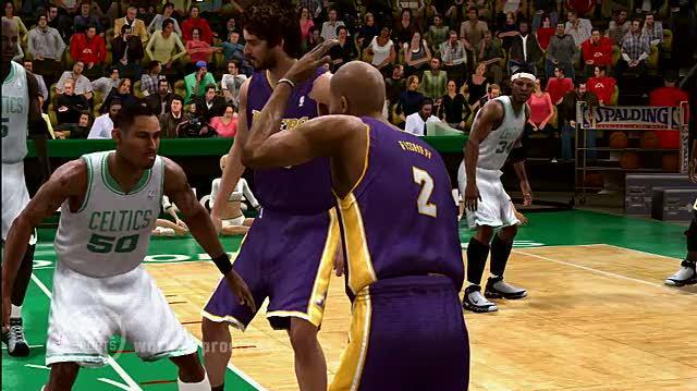 NBA Live 09 Xbox 360 Trailer - Break Ankles
