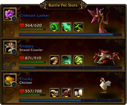 Warcraft 3 slot numbers