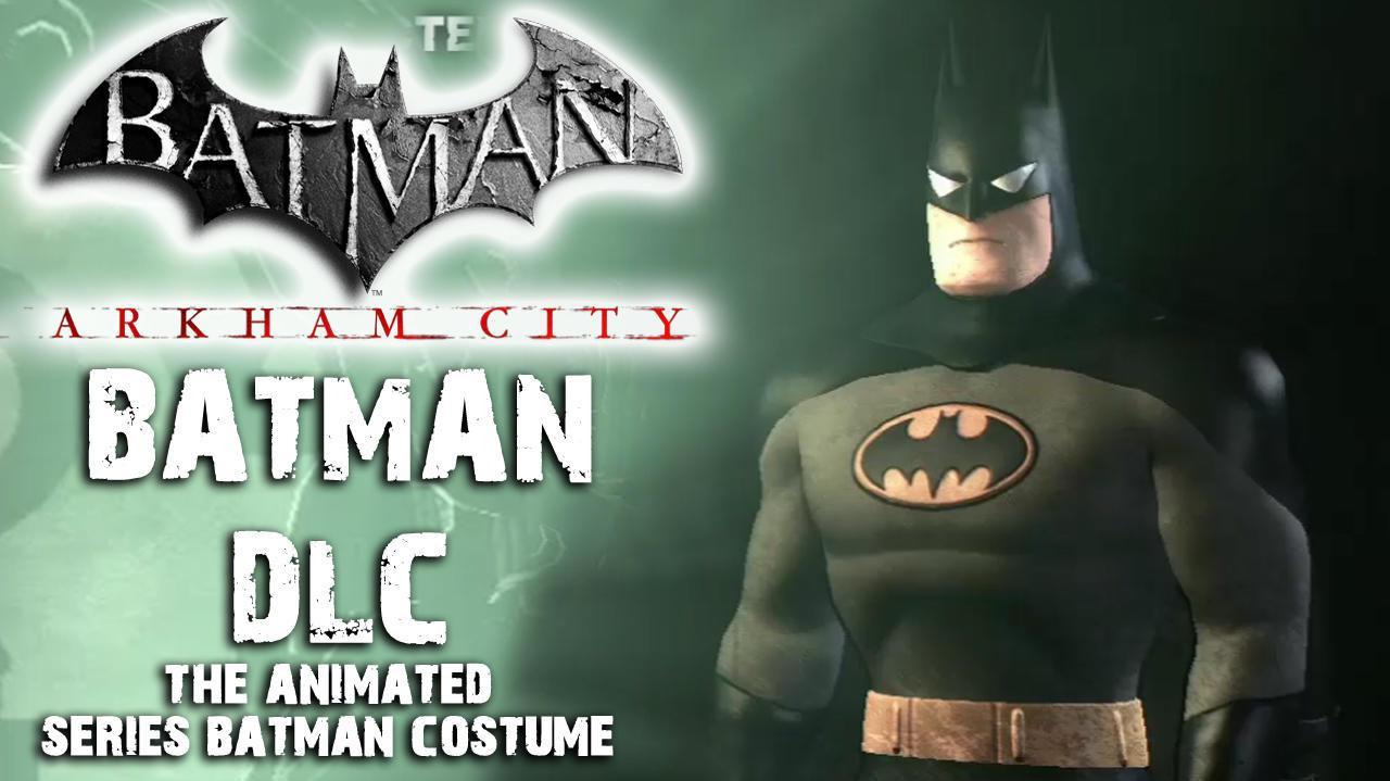 Batman Arkham City - Animated Series Costume