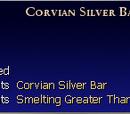Formula: Corvian Silver Bar