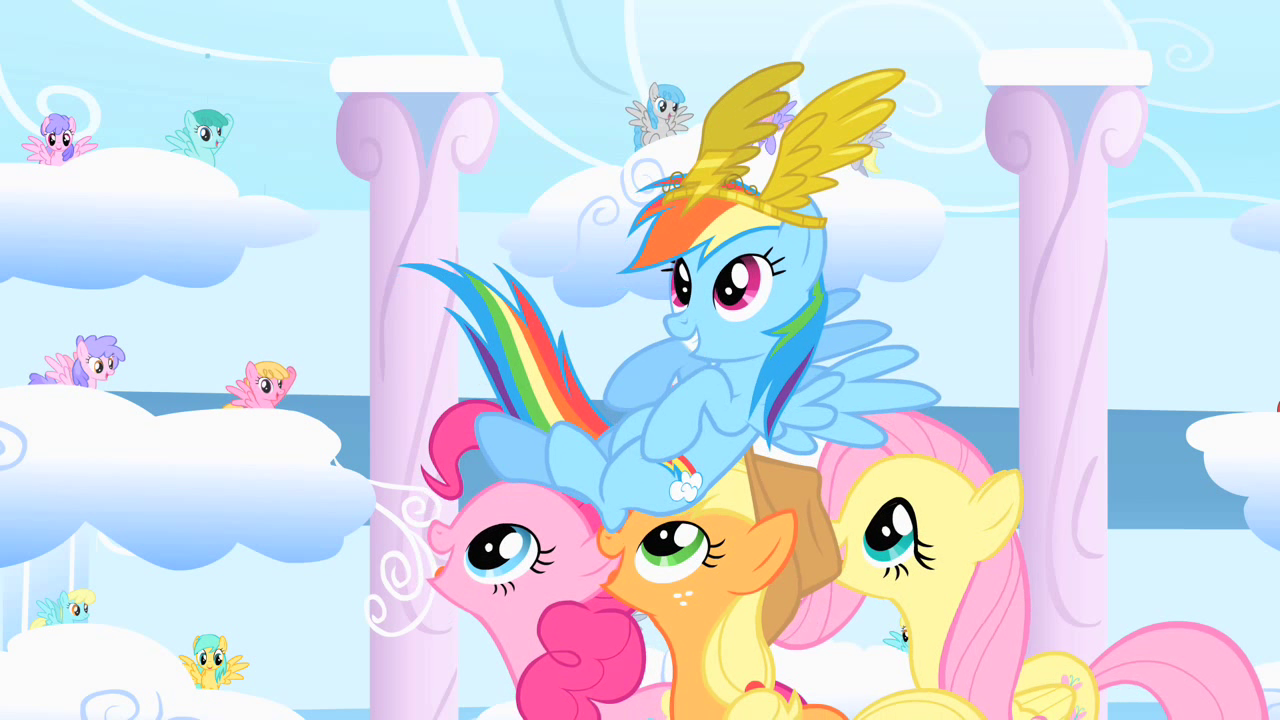 Rainbow Dash dating sim