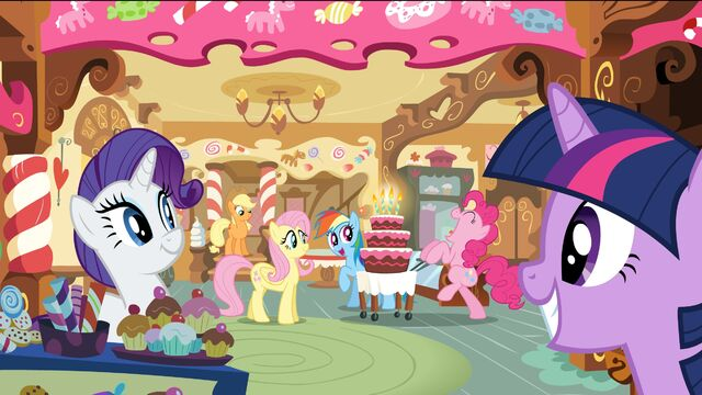 'Cause a Pinkie Party is not bound by the laws of time and space.
