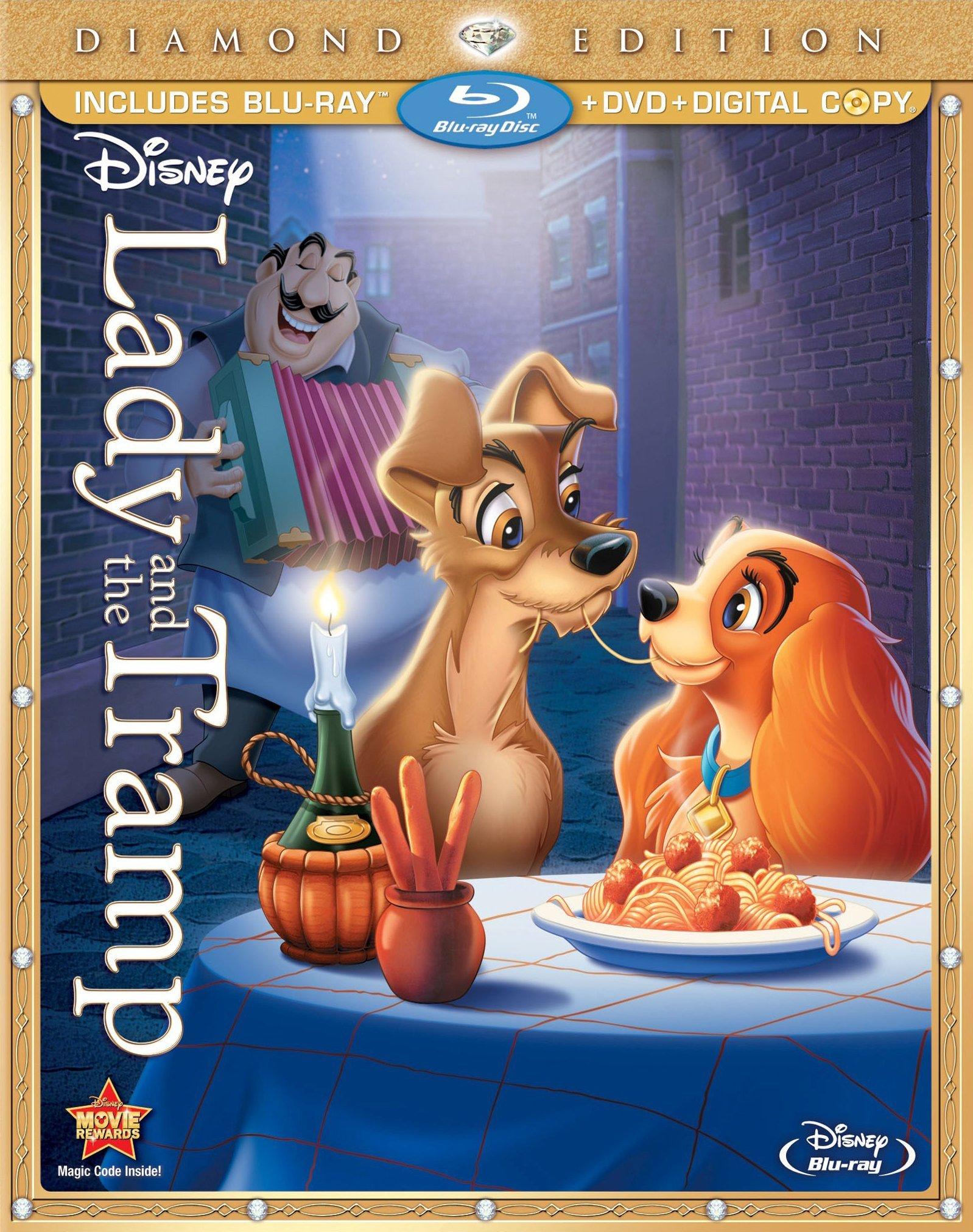 Blu-ray/dvd/digital Copy or