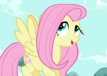 Fluttershy rolling her eyes S2E07