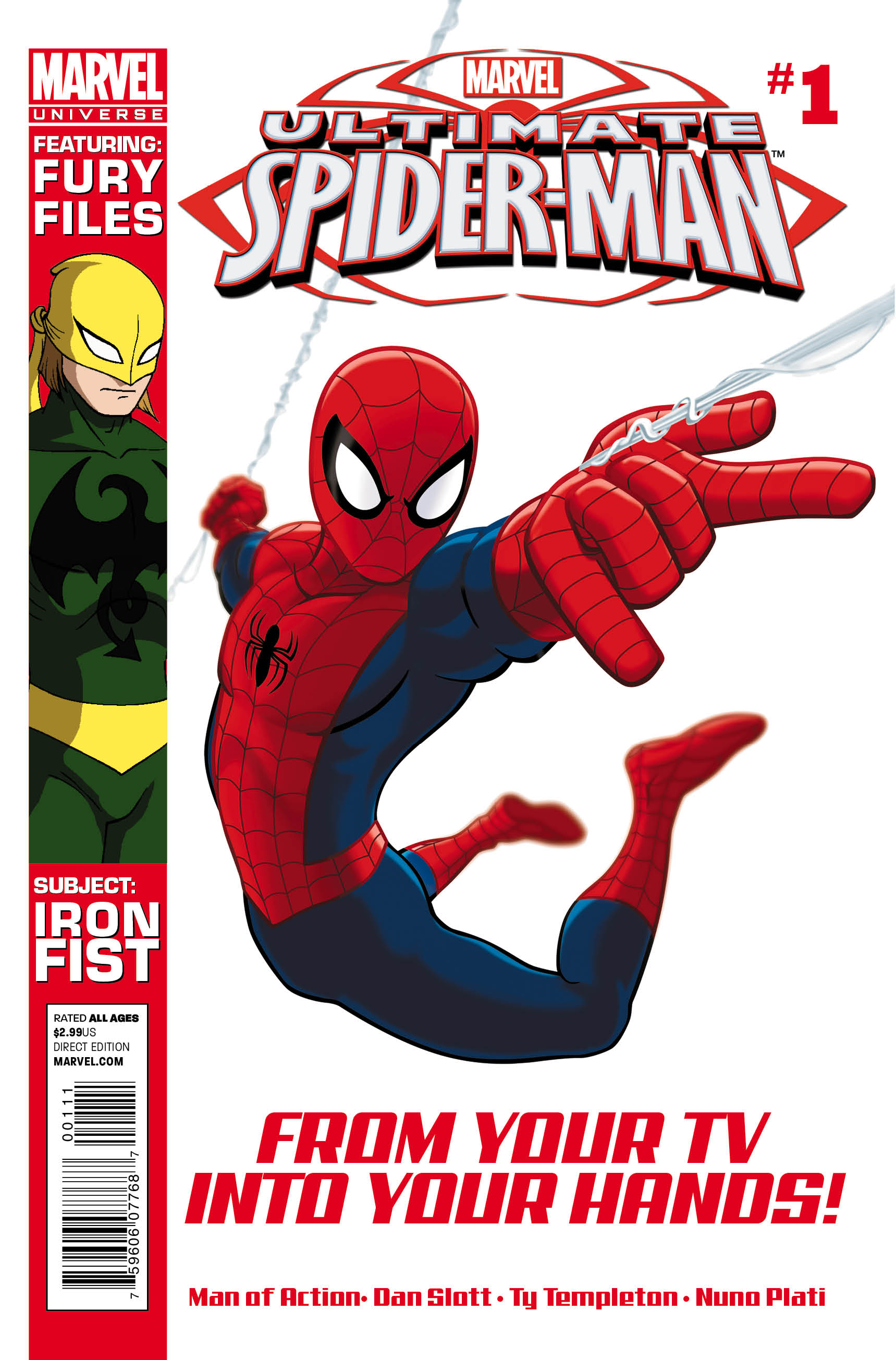 marveluniverseultimatespiderman 1 cover