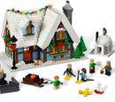Winterliche Hütte 10229