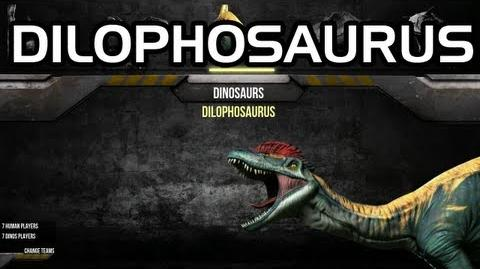 Primal Carnage - Dilophosaurus Gameplay