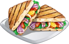 Recipe-Toasted Veggie Sandwich