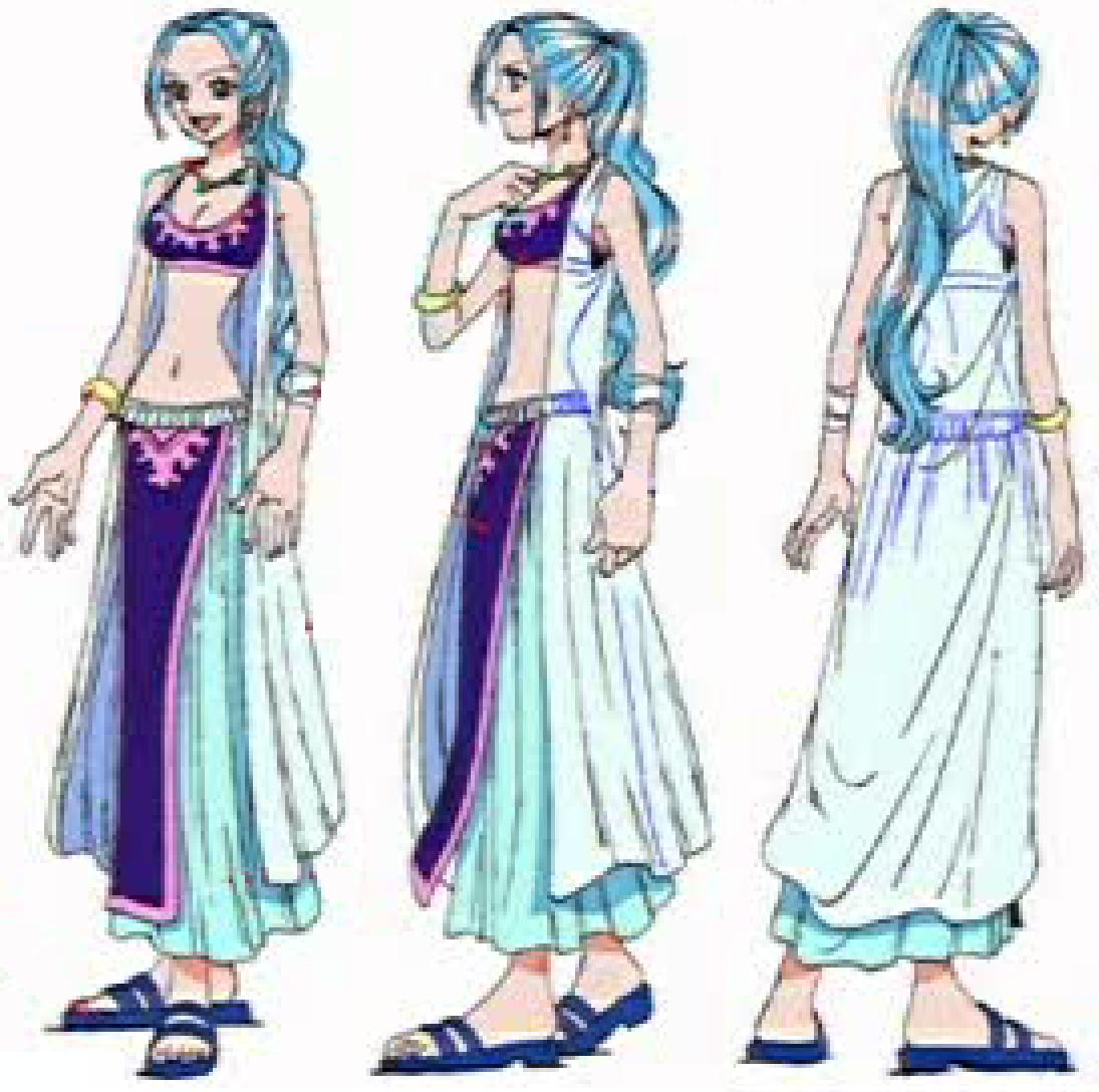 Naruto x One Piece: Character Vivialabasta