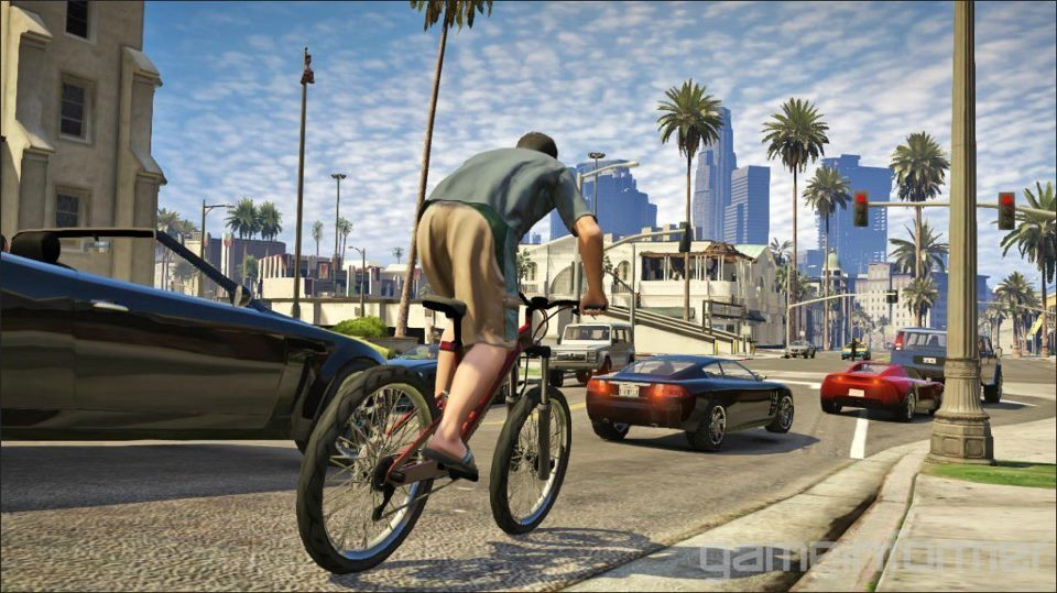 Bikes In Gta 5 With Flames The mountain bike in GTA V