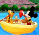 Mickey Goes Fishing