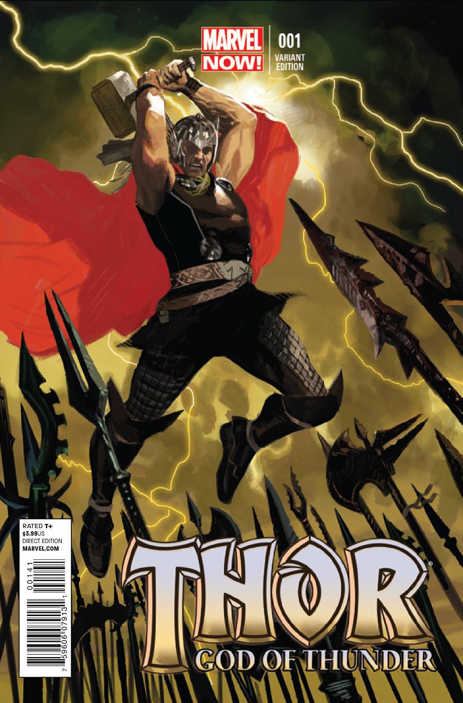 Thor: God of Thunder Vol 1 1 - Marvel Comics Database  Thor