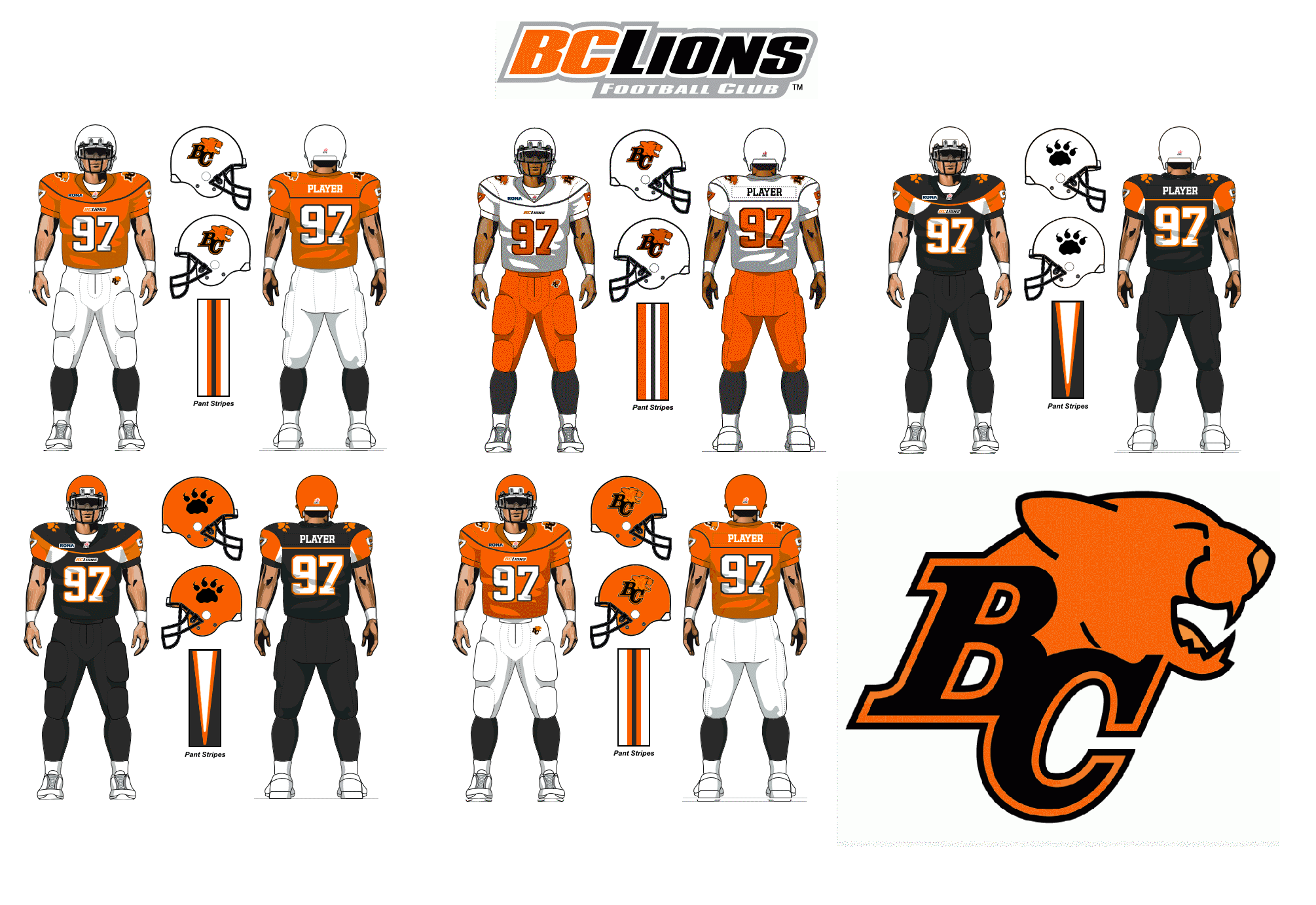 Bc lions cfl jersey silber for Bc lions t shirts