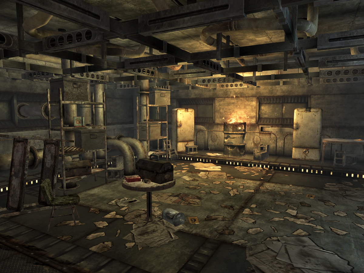 Image sewer storage the fallout wiki for Best house design fallout 4