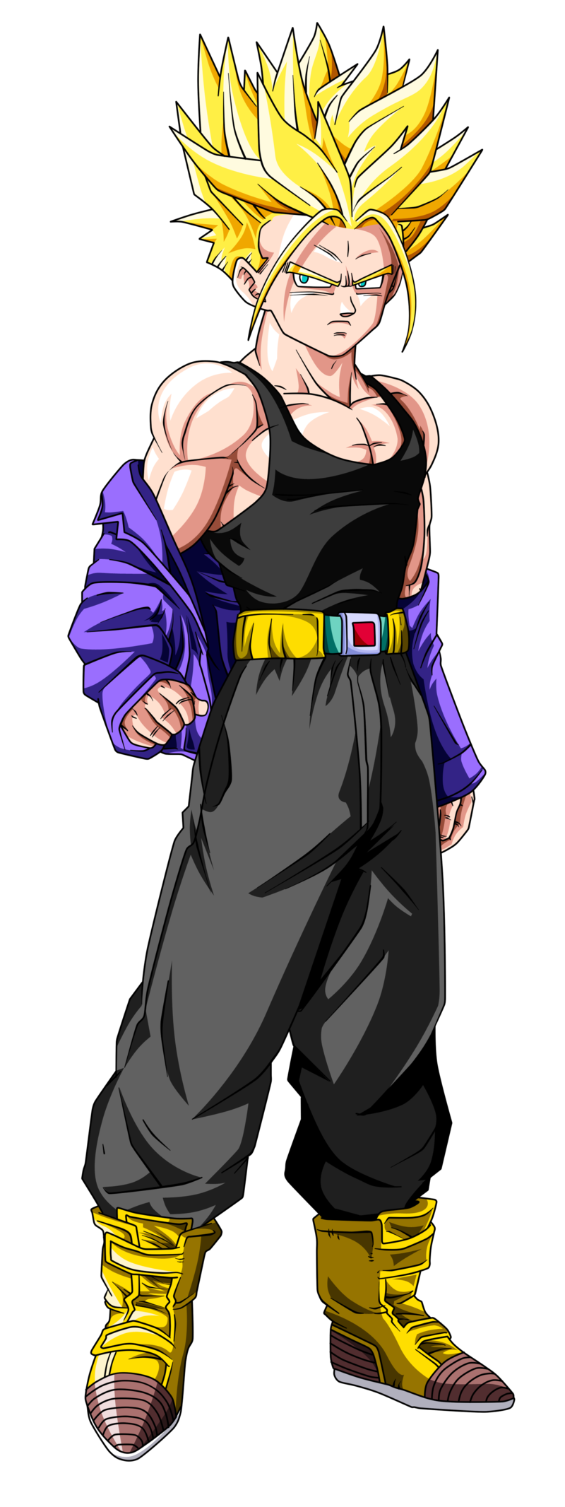 Imagen - Render de Trunks del Futuro.png - Dragon Ball Wiki