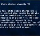 White Stratum Abyssite VI