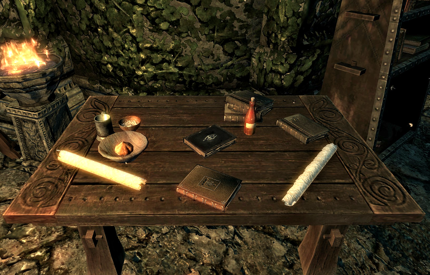 Download clutter of skyrim - smithing